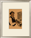 Fats Waller Framed Giclee Print by Clifford Faust