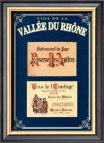 Vins de la Vallee du Rhone I Prints