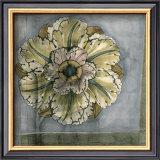 Rosette and Damask IV Prints by Jennifer Goldberger
