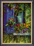 L'Auvent Bleu Posters by Robert Savignac