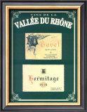 Vins de la Vallee du Rhone II Prints