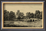 Idyllic Bridge II Prints by I.g. Wood