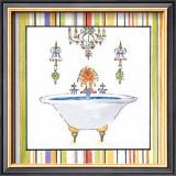 Striped Bath III Prints by Elizabeth Jardine