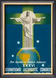 International Eucharistic Congress, Rio de Janeiro, Brazil, c.1955 Print by  La Motta