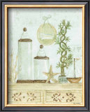 Spa Bath: Apothecary Jars Prints by Grace Pullen