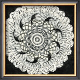 Abstract Rosette I Print by Chariklia Zarris