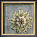 Rosette and Damask II Prints by Jennifer Goldberger