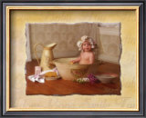 Baby in Bathtub Prints by Lisa Jane