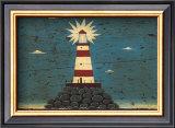 Lighthouse I Art by Warren Kimble