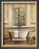 Classical Bath III Prints by Marilyn Hageman