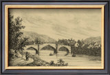Idyllic Bridge I Prints by I.g. Wood