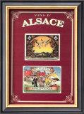 Vins d'Alsace Print