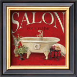 Salon pour Femme Posters by Charlene Winter Olson