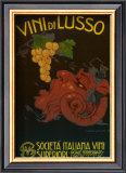 Vini di Lusso Prints by Plino Codognato