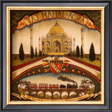 Taj Mahal Art by Richard Henson