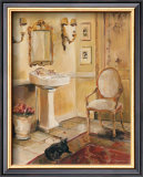 French Bath II Prints by Marilyn Hageman