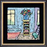 Blue Room Bath Poster by Brett Varney