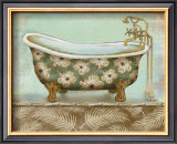 Tropical Bath II Poster by Todd Williams