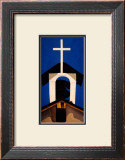 Church Steeple Prints by Georgia O'Keeffe