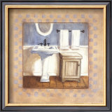 Country Bath IV Art by Carol Robinson