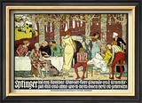 Eptinger Framed Giclee Print by Burkhard Mangold