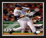 Rocco Baldelli 2008 ALCS Game 3 Home Run Framed Photographic Print