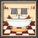 Bath Time Prints by Helga Sermat
