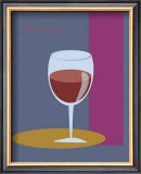 Bordeaux I Framed Giclee Print by  ATOM