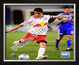 Juan Pablo Angel 2008 Soccer Action; 114 Framed Photographic Print
