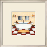 Bath Time Poster by Helga Sermat