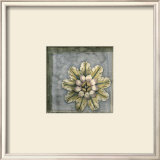 Rosette and Damask II Print by Jennifer Goldberger