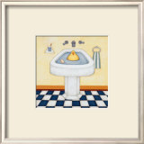 Quick Wash Prints by Helga Sermat