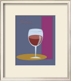 Bordeaux I Framed Giclee Print by  ATOM