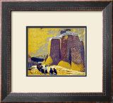 Church, Ranchos de Taos Prints by Gustave Baumann