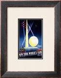 New York World's Fair, World of Tomorrow Framed Giclee Print by Joseph Binder