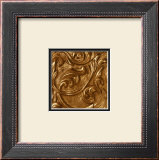 Copper Leaf Frieze Prints by George Caso