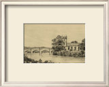 Idyllic Bridge IV Prints by I.g. Wood