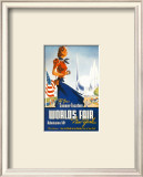 World's Fair New York Posters by Robert Smith