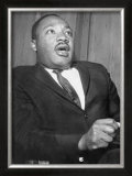 Martin Luther King, 1960 Print