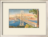 Oakland Bridge Poster