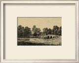 Idyllic Bridge II Print by I.g. Wood