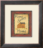Home Sweet Home Prints by Jo Moulton