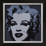 Marilyn, c.1967 (Black) Poster by Andy Warhol