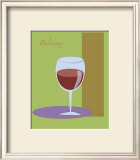 Bordeaux II Framed Giclee Print by  ATOM