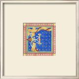 Ornamental F Prints by Pamela Shirley