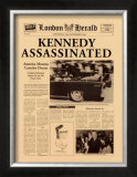 Kennedy Assassinated Poster