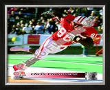 Chris Chambers University of Wisconsin Badgers 2000 Framed Photographic Print