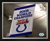Indianapolis Colts Super Bowl XLI Championship Framed Photographic Print