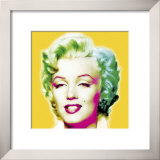 Marilyn in Yellow Print by Wyndham Boulter
