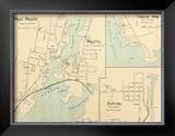 West Mystic, Mystic, Connecticut, c.1893 Framed Giclee Print
